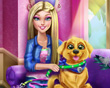 Barbie ve Puppy oyna